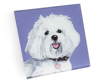 Set of 4 Havanese Coasters