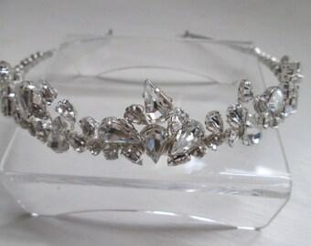 Bridal hair accessories, wedding hair accessories, bridal tiara, wedding tiara, handmade tiara