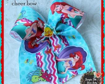 Little Mermaid Cheer Bow