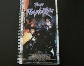ONE SALE - Purple Rain Recycled Notebook - Prince