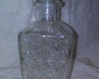 Crystal Liquor Decantar, liquor decantar, Crystal Decantar, bottle, stopper, old bottle