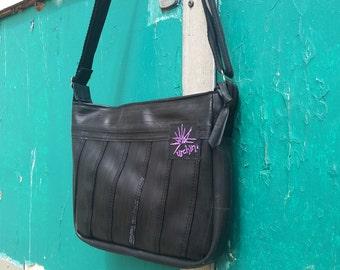 Ladies Handbag - Recycled Bag - Eco Friendly - Bike Inner Tubes