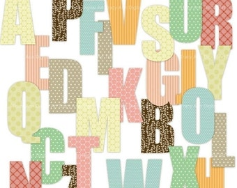 Sophie Pattern Digital Alphabet