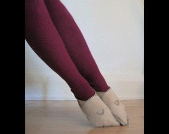 Upcycled Slipper Socks