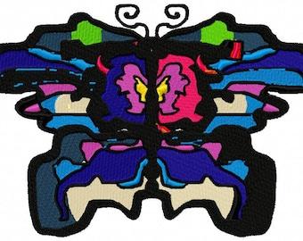 SPLASH Butterfly Machine Embroidery Design...2547