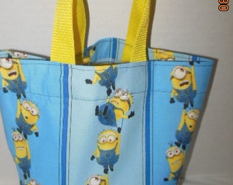 Minions Tote/Gift Bag/Easter Basket