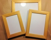 Pine Light Honey Wood Picture Photo Frame 8 x 10""
