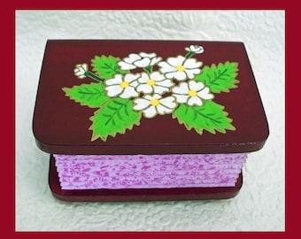 Red Velvet Trinket Box