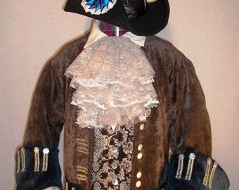 Pirate Costume - Jabot - lace collar - wedding - Groom - Best man - Cosplay - Halloween - Costume - Historical Jabot - Historical costume