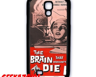 The Brain that Wouldn't Die Cell Phone Case for iPhone and Samsung Galaxy Cult Fiction Sci Fi Horror
