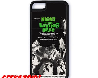 Night of the Living Dead Poster Cell Phone Case for iPhone and Samsung Galaxy