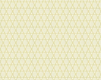 50% OFF Remember Dots Yellow - 1/2 Yard