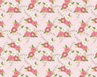 25% OFF Wonderland Floral Pink - 1/2 Yard