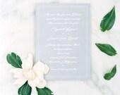 Southern Magnolia Wedding Invitations