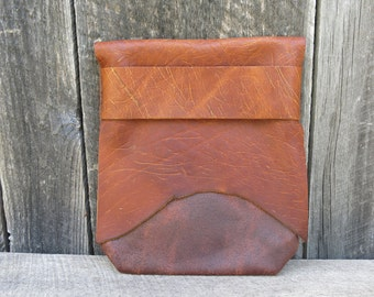 Natural Rustic Light Traveler Eco Leather Cover