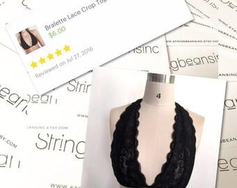 Bralette Lace Crop Top SUPERDEAL