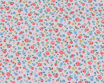 4202 - Cath Kidston Little Flower Buds (Offwhite) Cotton Canvas Fabric - 57 Inch (Width) x 1/2 Yard (Length)