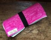 Travel Changing Pad ORGANIC, reusable changing pad, diaper pad, baby diaper changer, diaper bag