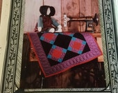 Amish Doll and Quilt Craft Pattern Soft Sculptured Doll Pattern Vintage