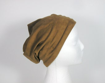 Vegan Suede Slouchy Beanie Faux Suede Slouch Hat Tan Suede Hat Mens Hats Womens Hat Mens Beanie Womens Beanie Suede Slouchy Turban Suede Hat