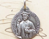 St Yves - Patron of lawyers, attorneys - Antique Reproduction