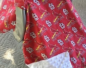 Car Seat Canopy..Baby Car Seat Canopy... Carseat Cover  St. Louis Cardinals.... Michaelmooodesign