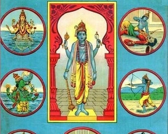 Dashavatara - the 10 Incarnations of Vishnu ebook