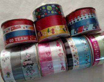 Scrapbooking Ribbon, DIY Hair Ribbons, Embellishment Ribbons, Ribbon Supply, DIY Decorations, Craft Ribbons 001