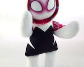 Cuddly Plush Spider Heroine (Masked)