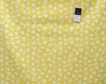 David Walker PWDW117 Sweetheart Bee Love Buttercup Cotton Fabric By Yard