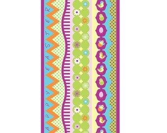 Easter Border Cardstock Stickers