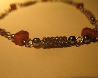 Vintage Jasper Bracelet from Peru