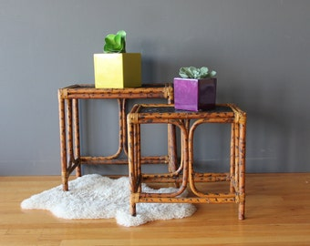 Bamboo Nesting Tables (Set of 2)