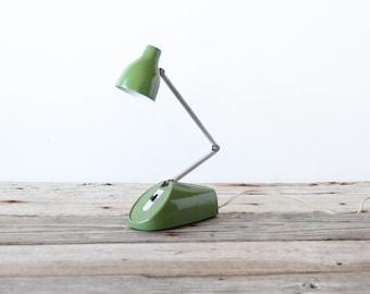 Mod Folding Tensor Style Green Lamp