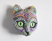 Cosmic Cat Wall Sculpture