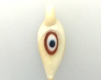 Lamp Work Eye Pendant by Jim Smircich