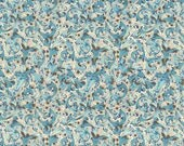 Made In Italy Authentic Florentine Paper Classic Floral Blue By Carta Fiorentina  F020