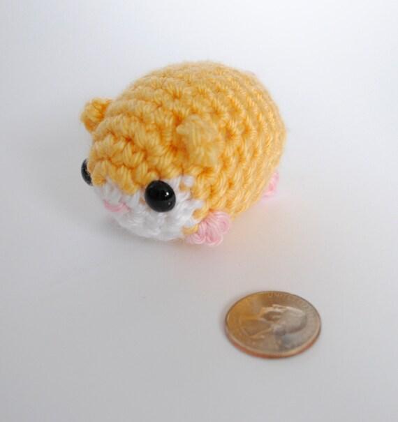 Amigurumi Baby Guinea Pig : Items similar to Amigurumi Hamster / Crochet Hamster/ Cute ...