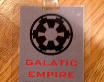 galatic empire ID badge