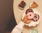 1/6th Scale Miniature Glazed Donuts Blythe Momoko Pullip Barbie Fashion Royalty Doll House