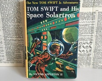 Vintage Tom Swift Space book