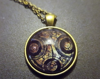 Steampunk Inspired Dr Who Necklace