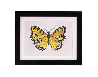 Asbury Butterfly Print | 9x12