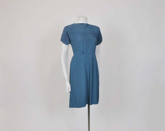 1940s dress / The Girl Next Door Vintage 40's Rayon Dress