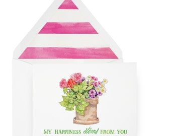 Mother's Day Stem Card