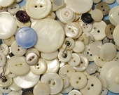 China & Glass Vintage Buttons By The Cup, Scrapbooking Buttons, Craft Buttons, Cardmaking Buttons, Sewing Buttons, Vintage Buttons