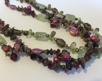 Tea Time Beaded Necklace