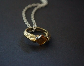Harry Potter horcrux ring necklace
