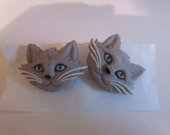 gray cats post