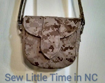 Sale: Use 15Off coupon to get 15% off, USMC MARPAT Desert Small Crossbody Bag